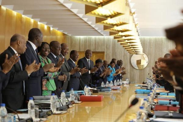Voici la liste complete du nouveau gouvernement Ivoirien