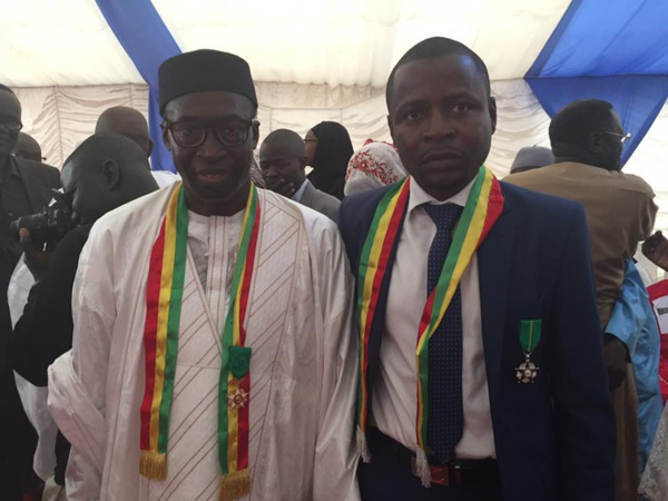 Dr ibrahima Mendy, décoré au grade du Chevalier du Mérite par le Président Macky Sall...