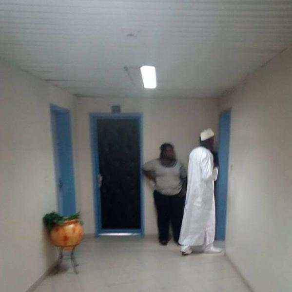 Les images exclusives: Khalifa Sall lors de son face à face avec le juge