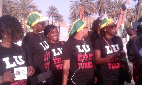 Photos: Il y'avait aussi des belles dames à la manifestation de Y'en a marre