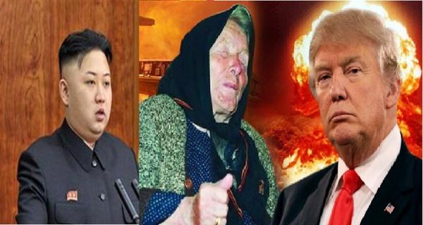 Cette Femme a prédit Une guerre qui va éclater entre Amérique et la Corée du Nord en 2017 !!