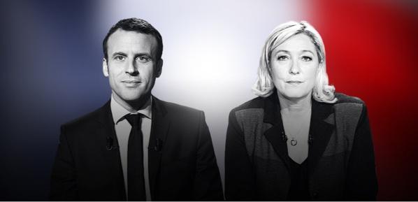 Présidentielle: Macron et Marie Le Pen  s'affrontent au second tour