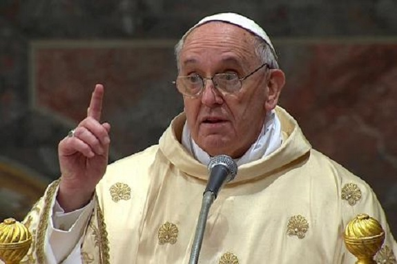 Le pape François aux Djihadistes:« aucune violence ne peut être perpétrée au nom de Dieu »