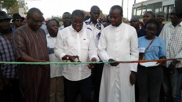 Fête foraine: Baldé soutient la paroisse St Benoît de Nema avec plus d'un million de FCFA