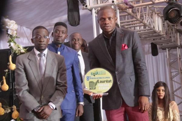 Chimer Junior Lopy, remporte le prix du meilleur reportage presse écrite 2017