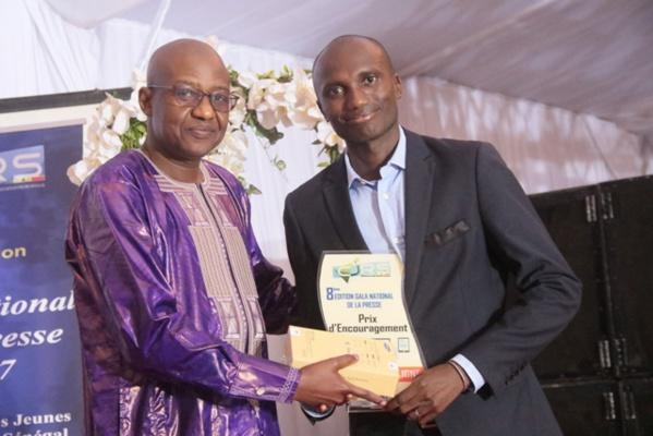 Meilleur reportage presse en ligne : Chamsidine Sané de Seneweb primé
