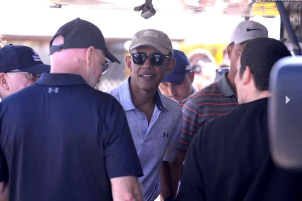 Toujours classe Barack Obama