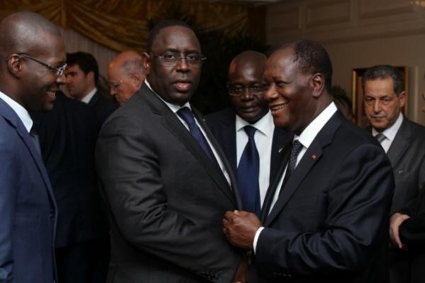 Audience à l'Élysée : le président Alassane Ouattara plus fort que  Macky Sall