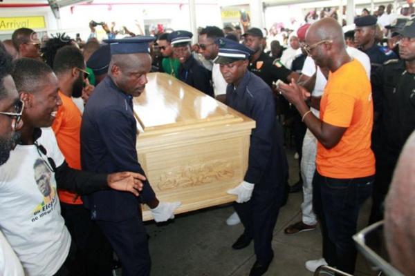 Cote Ivoire: Cheick Ismaël Tioté repose désormais au cimetière de Williamsville