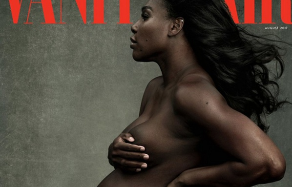 Serena Williams pose enceinte mais nue
