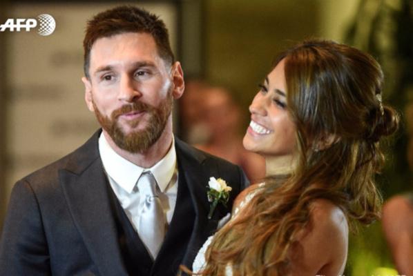 Du beau monde pour le mariage de Leo Messi et Antonella Roccuzzo à Rosario (Photos)