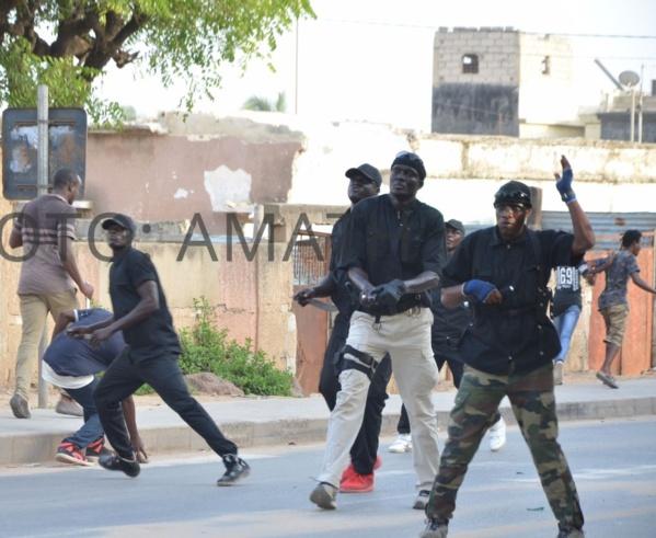 Rufisque: les nervis du ministre Oumar Gueye sèment le bordel dans les rues!