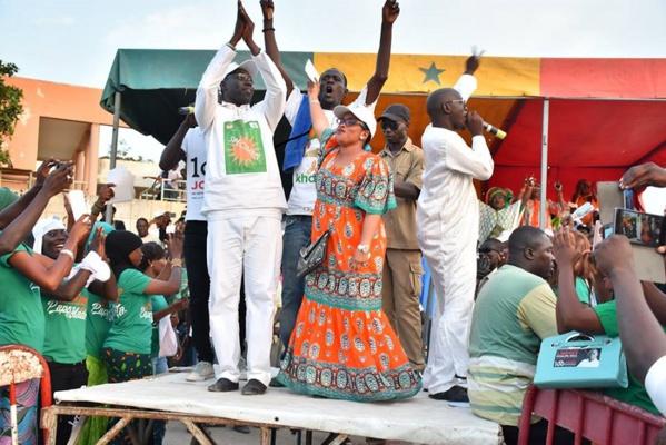 La coalition Taxwu Sénégal confirme sa victoire à Dakar devant Benno (111.045)  (108.994)