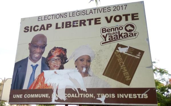 Résultats des législatives: Santi Sène Agne, Serge Malou et Karim Fofana neutralisés à SICAP Liberté
