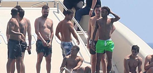 Neymar s'offre déjà une virée entre potes à Saint-Tropez !