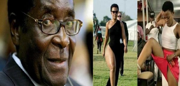 « Robert Mugabe sait que je ne porte pas de slip », dixit la sud-africaine Zodwa Wabantu