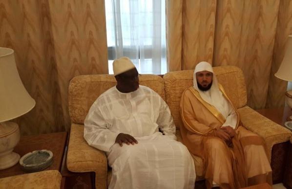 Arabie Saoudite: l'Imam Mahir Al Muaiqly  rencontre le président Sall