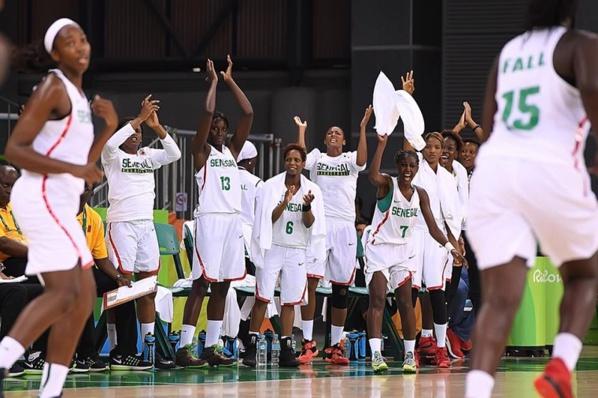 AFROBASKET DAMES :le Sénégal écrase la Guinée par 105 à 39