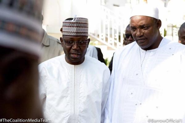 Apres l'expulsion de 69 sénégalais, Barrow tance son ministre de l'intérieur: « arrêtez vos agissements je suis au courant de tout »