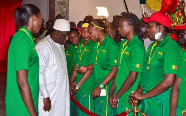 Afrobasket féminin : Macky Sall félicite les Lionnes