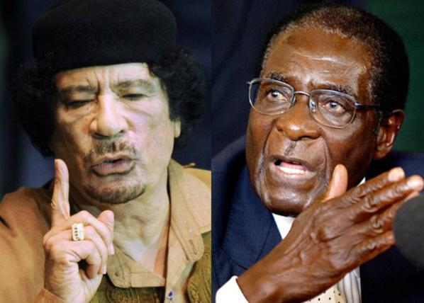 Robert Mugabe dénonce la complicité de l'Afrique du Sud, du Gabon et du Nigéria dans la mort de Khadafi