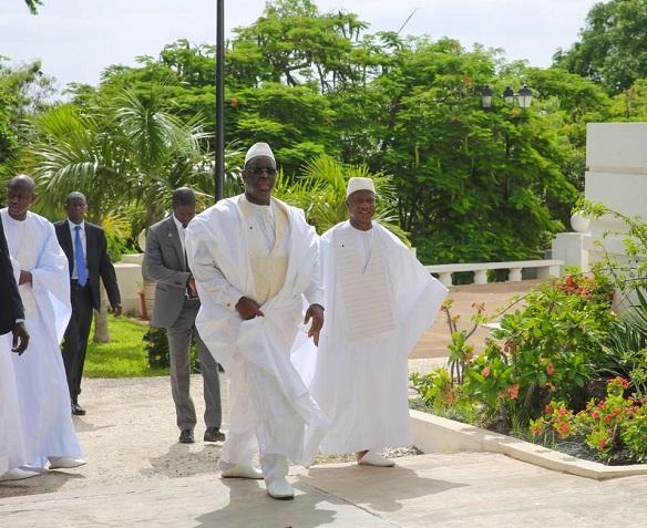 Photos:Macky Sall et son homme de confiance passent Tabaski ensemble au Palais