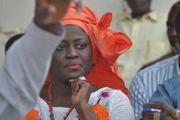 Aminata Angelique Manga comme ministre, fait beaucoup de bruit à Ziguinchor