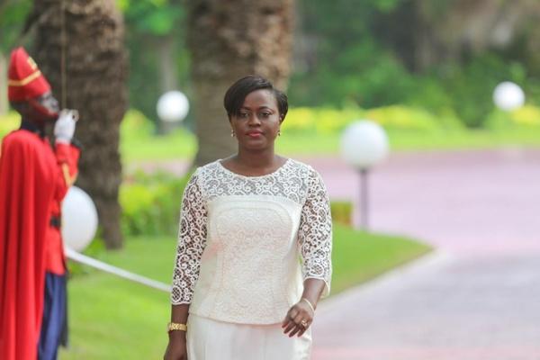 Photos: Aminta Angelique Manga, ministre de l'Economie Solidaire et de la Micro finance