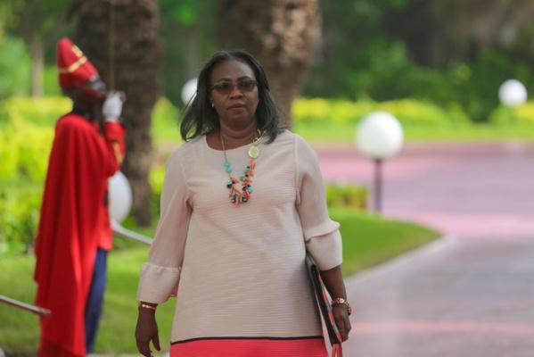 Photos: Aissatou Sophie Gladima Siby, ministre des Mines et de la Géologie
