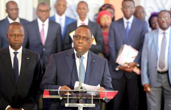 Conseil des ministres: ces mesures prises par Macky Sall