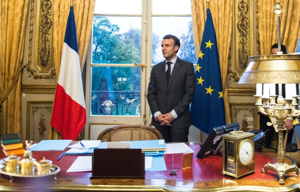 Statut de Jérusalem: Macron fait part de sa «préoccupation» à Trump