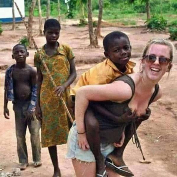 Cet enfants, est un opportuniste parfait !
