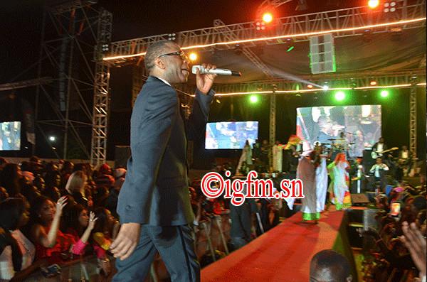 Regardez les images de la honteuse soirée de Youssou Ndour au CICES