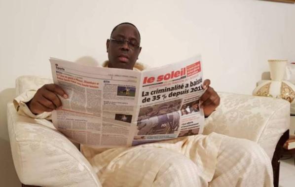 """Marketing pour un """"Le Soleil"""" nouveau : Yakham Mbaye engage Macky Sall"""