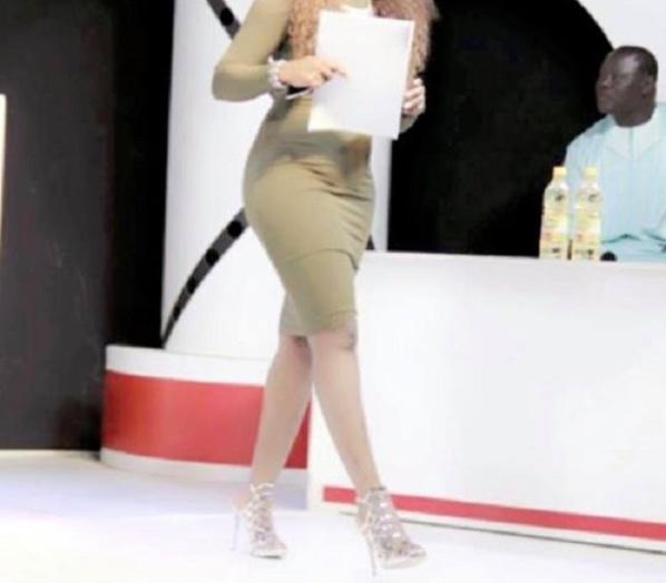 Regardez la robe de Fama Thioune qui a choqué !