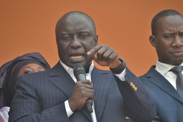 Idrissa Seck tape plus fort : « Quand un Ngaaka va dire aux bailleurs de fonds..»