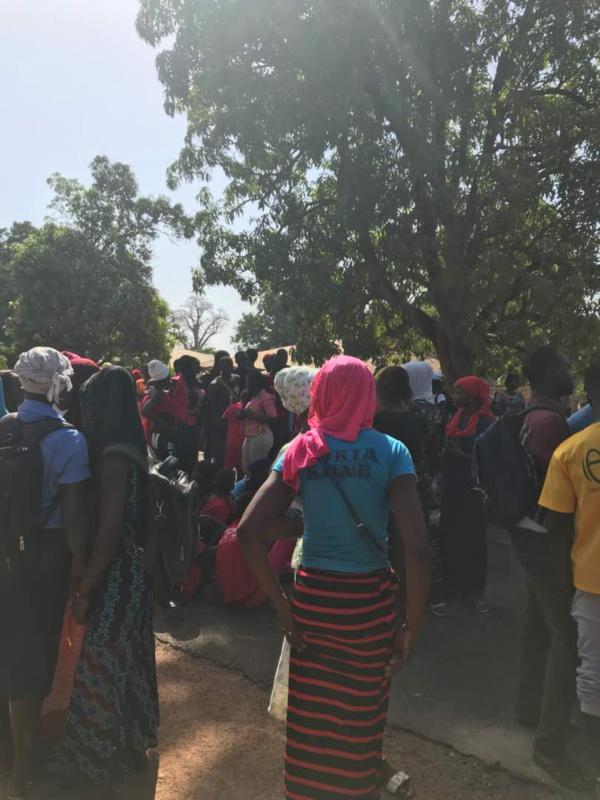 L'axe Bounkiling- Bignona fermé: les élèves dictent leurs lois, les usagers dans le désarrois