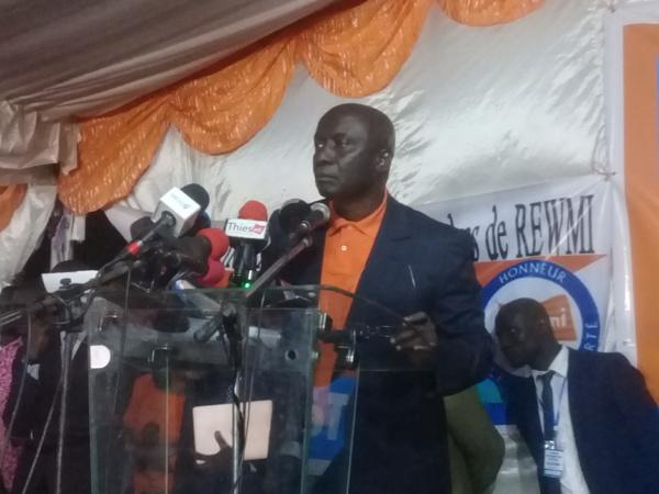 Idrissa Seck : « Macky Sall a tout fait pour saboter notre séminaire d'aujourd'hui...»