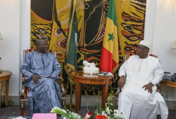 Palais: Macky déroule le tapis rouge à Diagne Fada