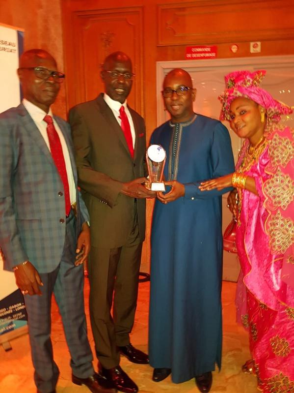 """Gifa d'Or:  Guirassy """"Homme Africain de l'année 2018"""", décoré à Paris (Photos)"""