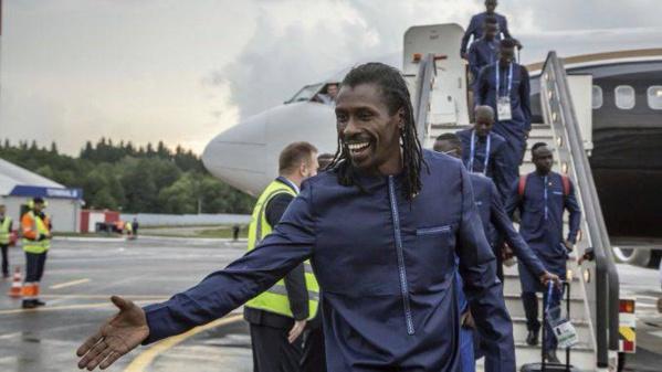 Mondiale 2018: L'équipe du Sénégal est arrivée à Kaluga (Russie)