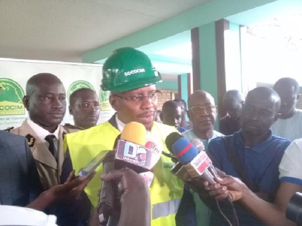 Le ministre Moustapha Diop sur la supposée hausse du ciment: « Actuellement, tout est rentré dans l'ordre»
