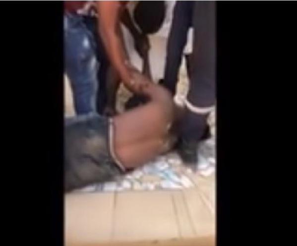 Un jeune homme violemment agressé par des hommes en tenue