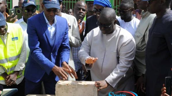 Promovilles Guédiawaye : Abdoulaye Daouda Diallo et Aliou Sall lancent les travaux
