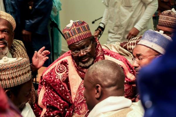 Conférence internationale islamique de Washington: l'Imam Cheikh Tidiane CISSE, de la Fayda et son fils Seydi marquent l'événement