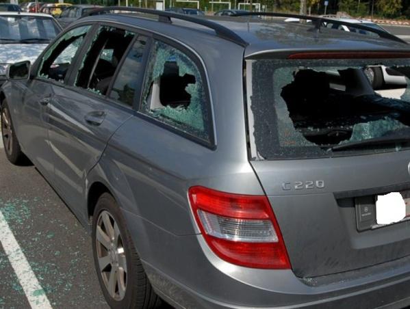 Thies: Le véhicule d'un responsable de Pastef vandalisé