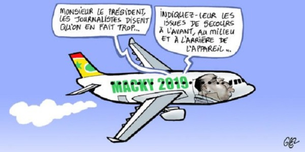 Air Sénégal international : Macky Sall, VRP de luxe ?