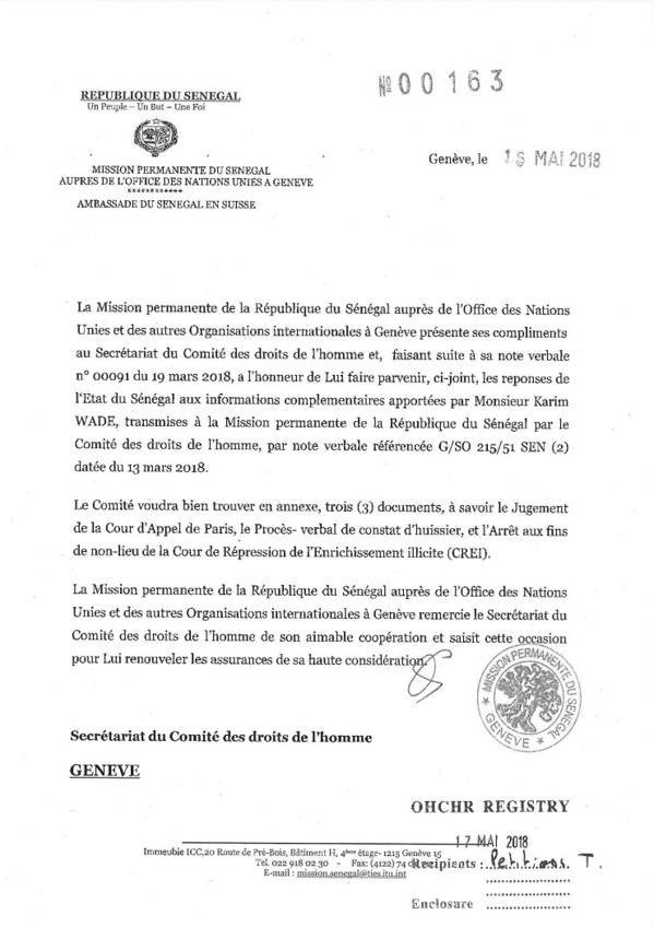 Exclusif: L'État s'est engagé à ne pas arrêter Karim Wade (DOCUMENTS)