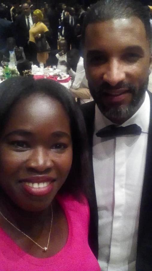 Photos: Dieynaba Goudiaby, présidente de l'UCTM à la cérémonie des CAF Awards