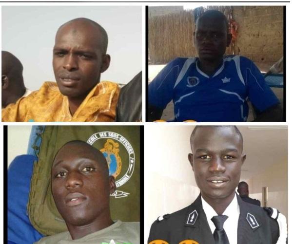 Convoi de Macky : Voici la liste des gendarmes tués dans un accident
